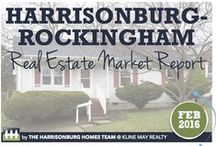 Real Estate Market / Local real estate market stats, trends, infographics, charts, graphs, and reports for Harrisonburg and Rockingham County, Virginia, in the Shenandoah Valley.