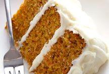 Cake/Cupcakes - Carrot / by Meriem Bustos