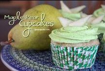Cake/Cupcakes - Apple & Pear / by Meriem Bustos