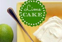 Cake/Cupcakes - Lime / by Meriem Bustos