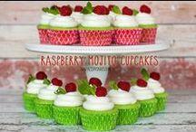 Cake/Cupcakes - Raspberry / by Meriem Bustos