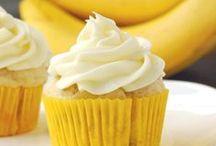 Cake/Cupcakes - Banana/Hummingbird / by Meriem Bustos