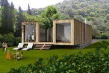 Eco / Mini house / Mini house  Eco friendly homes / by Cat Rio