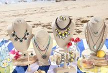 Summer Jewelry and Style / Come and travel the Amalfi Coast with me. I just love the Summer Collection by Chloe + Isabel. If you have any questions or would like a personal styling session please contact me you can message me or contact me in my boutique. http://candibyilyana.com  #Summerfashion #Jewelry #chloeandisabel