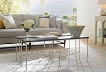 Coffee time / Coffee table or Cocktail table? Whatever you want to call it, it's the centrepiece to the room, so be sure to find the one that fits your style and needs.