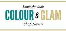 Colour & Glam / Love to decorate, love to add colour to your home & love glamorous style? Shop the latest looks!