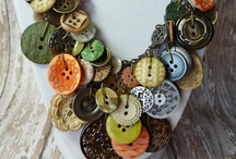 button up / Button crafting / by Nisa Deeves