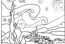 coloring pages / I love to color!