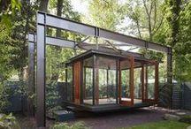 DeSigN LaND ~ STrucTureS / Pavilion, pergola, canopy, gazebo, lanais, porch, pool house, storage unit, shed, etc. / by ~ KaiZeN ~