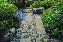 pathways in the garden / by julie shobe