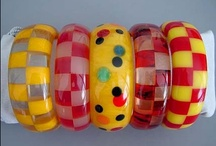 BAKELITE & Celluloid / I Love the Colors and Nostalgia of Bakelite and other early plastics / by Sandi Lightfoot
