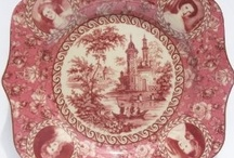 DELFT and Transfer Ware / Transfer ware is scenes and designs transferred onto plates and vessels.   Delft is actually Dutch transfer ware with scenes from Holland. / by Sandi Lightfoot