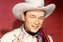 COWBOY Actors TV & MOVIES / Back in the 53 we finally got a TV.  Not much was on at first but I fell in love with Roy Rogers.   / by Sandi Lightfoot