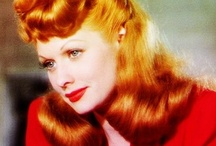 I Really Do LOVE LUCY / Lucille Ball always made me laugh.  Watching I Love Lucy on TV as a child got me hooked on this Icon.  We never knew she had a long film career before TV. / by Sandi Lightfoot