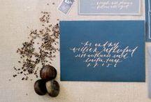 p a p e r . c a l l i g r a p h y / by Lindsey Zamora Wedding Styling + Design