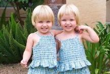 TWINS & Matching Outfits / If you are a Twin.....I think you are very special.  I have always been fascinated by twins.  I wanted to be one or I wish I had twin babies.  It is an interesting phenomenon. / by Sandi Lightfoot