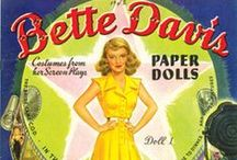 Celebrity Paper DOLLS / As a young girl....my favorite thing was to play with my paper dolls.  This was way before Barbie. / by Sandi Lightfoot