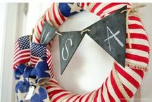 4th of July Wreaths / All about wreaths for 4th of July! / by Tree Classics