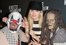 Stars' Spooky & Scary Halloween Pics! / See how your fave stars celebrate Halloween! / by M Magazine