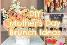 Mother's Day DIYs, Crafts, & Recipes / DIY inspiration for celebrating Mother's Day
