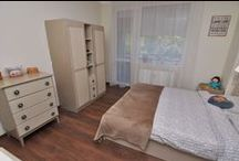 Apartament / Lakberendezés A  rebuilt homes. We have developed througt the existing spruce bedroom.