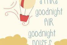 For the Hot Air balloon nursery / by Ashley Harris