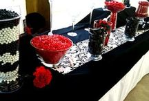 Black and Red Candies: hOt ColOr CoMbos
