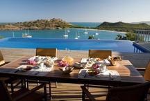 Luxury Homes / Luxury villas & condos in Antigua, Mykonos, Phuket, Mani Greece / by Luxury Footprints