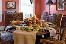 Our Favorite Tablescapes
