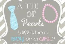 Gender Reveal Parties and Baby Showers!