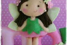 Felted Ideas for Little Girls / things made of felt that girls would love. / by Jane Rausch