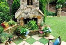 Firepits  / Firepits that I love...Crafting one this year at the inn on our 9 acres...somewhere!