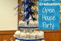 Graduation Open House / Some good ideas for a graduation open house party.