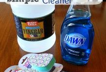 Cleaning Tips / Tips and solutions to make the chore of cleaning our homes  and laundry as easily and efficiently as possible.