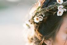 Rustic bride /  So natural, gentle and pure.