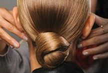 Runway hairstyles /