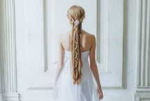 Fairytale hairstyles / Beautiful long braided hair.Like a princess!