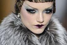 Galliano & Dior / #johngalliano #christiandior #fashion #runway #creativemakeup