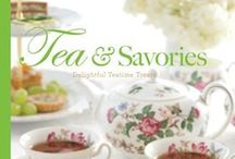 Tea & Savories / Get a preview of our latest book, Tea & Savories. This delectable collection includes more than 100 recipes for tea sandwiches and canapés, quiches and tarts, and soups and salads. Twelve tearoom owners from Florida to Alaska each contribute a customer-favorite recipe and share the inspiring stories behind their businesses. The book also features an expert tea-pairing guide and tea-steeping primer to make it simple to choose and prepare the perfect pot of tea.  Preorder your copy today!