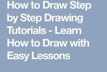Drawing 101 / I can't draw past a simple stick figure.  Maybe it's time to learn!
