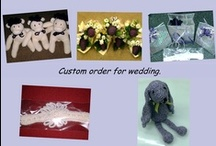 Wedding Favour Idea's - Gift's for Bridesmaids, flower Girls & more / On this board you will find some quirky gift idea's that are not only functional but also useful. They are mainly handmade by us if you would like anything do not hesitate to contact me x.