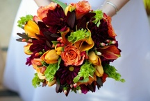 Wedding Flowers / Wedding floral design inspiration. I'm n love with succulents designed into bouquets.