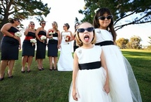 Bridal Party Image Inspiration / Inspiration for wedding party photography. Images by Chyna Darner Photography.