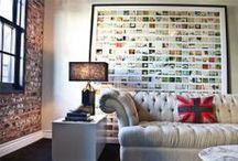 Mirrors, frames, wall art
