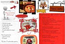 Español para la cocina / Vocabulario y recetas de cocina para estudiantes de español como lengua extranjera.