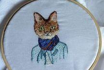 Embroidery /bordado ruso - aguja mágica