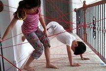 Kids Activities: Indoor Fun / Fun activities to do inside