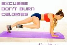 Full Body Toning Exercises / This board will give you ideas for exercises that work your entire body and help you get results quick. When you train more than one muscle your body burns more calories and you'll see results faster. #health #healthy #workout #exercise #fitness #fitnessguru #personaltrainer