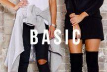 B a c k - 2 - B a s i c s / Unlimited combinations of basics to provide a no nonsense type of style.