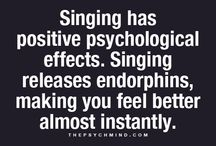 Singing is good for you / The health benefits of singing, music and being in a choir